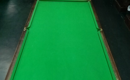 Table 43 - Snooker View